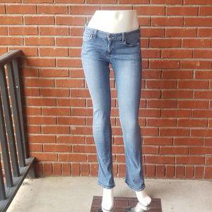 Hollister Skinny Bootcut Light Wash Jeans